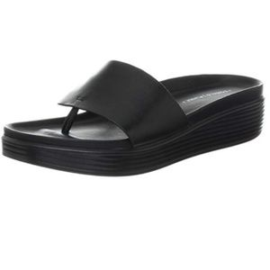 Donald J. Pliner Black Leather Fifi Sandal 9